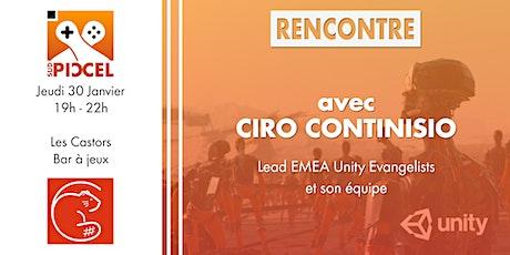 Sud PICCEL - Rencontre Unity avec Ciro Continisio billets