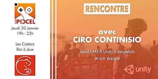 Sud PICCEL - Rencontre Unity avec Ciro Continisio