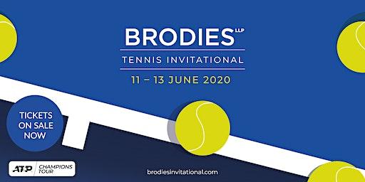 Brodies Tennis Invitational Saturday 13 June 2020