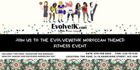 Moroccan Theme Fitness Event tickets