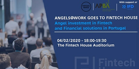 Angels@Work goes to Fintech House bilhetes