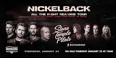 Resistance Nickelback Bus Trip  tickets