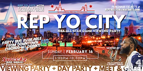 NBA All-Star Weekend Rep Yo City Day Party + Meet & Greet tickets
