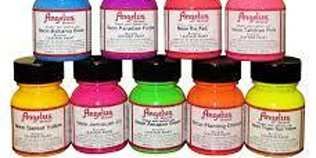 Leather Painting with Angelus Paints tickets