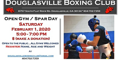 Open Gym Spar Day