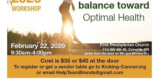 Tipping the balance toward Optimal Health