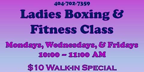 Ladies Day Special At Douglasville Boxing Club Jan 24 10-11AM