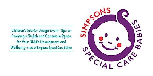 Free Children's Interior Design Event in aid of SSCB