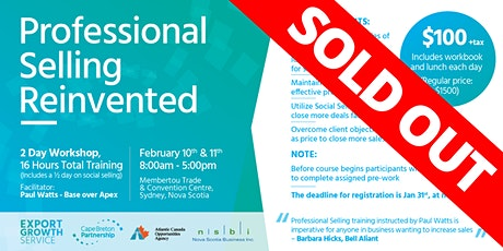 Professional Selling Reinvented (SOLD OUT) tickets