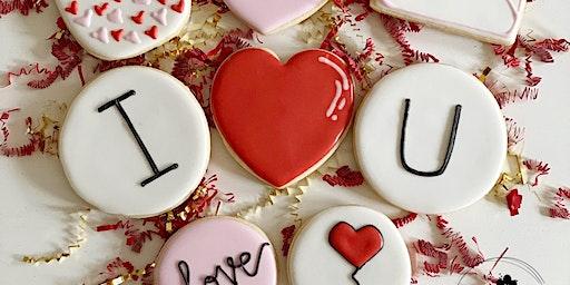 Valentine Cookie Decorating Class