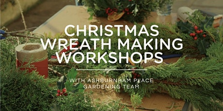 CHRISTMAS WREATH MAKING WORKSHOPS 2020 (1) WED 2ND DEC AM tickets