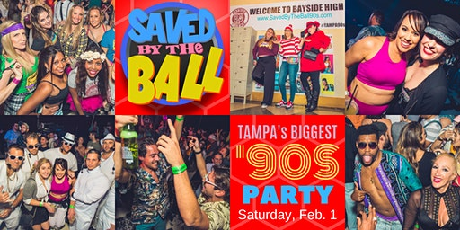 Saved By The Ball: Tampa's BIGGEST '90s Party!