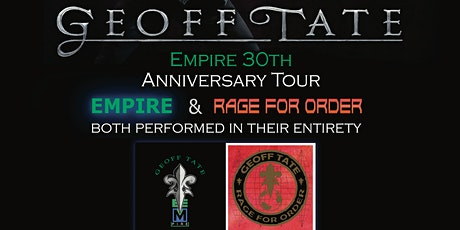 Geoff Tate-Empire 30th anniversary tour tickets