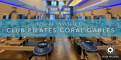 Club Pilates Coral Gables: Complimentary Class Weekend tickets