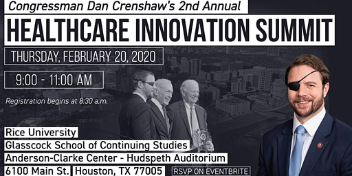 Congressman Dan Crenshaw's Healthcare Innovation Summit