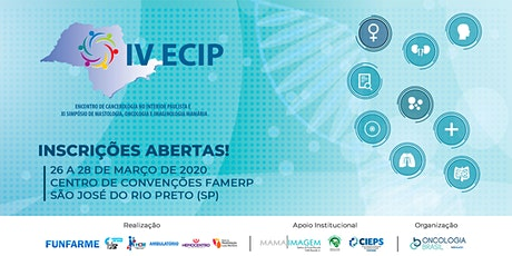 IV ECIP | ENCONTRO DE CANCEROLOGIA NO INTERIOR PAULISTA ingressos