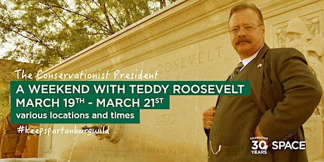 An Evening with Teddy Roosevelt at the Milliken Guest House tickets