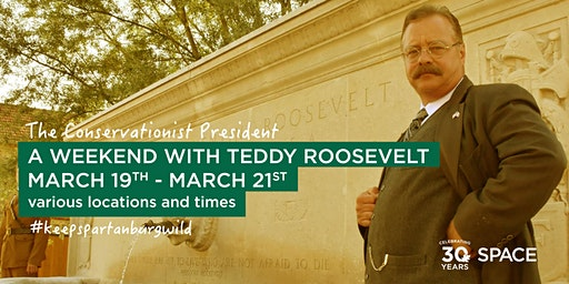 An Evening with Teddy Roosevelt at the Milliken Guest House