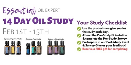 14 Day Essential Oil Study