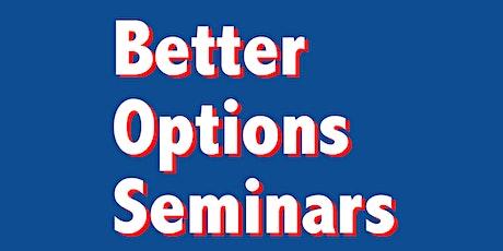 Better Options Seminar II: Erasing Family tickets