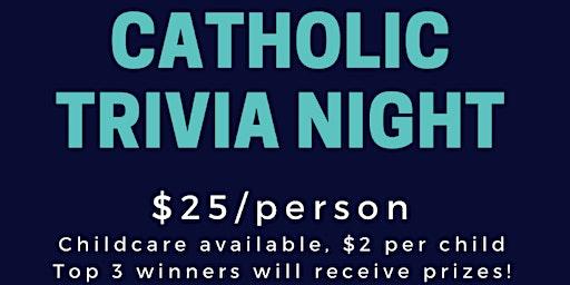 Catholic Trivia Night
