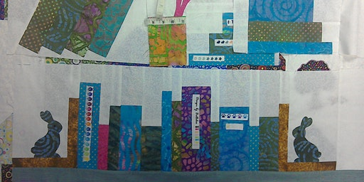 Applique Bookshelf Quilt PART ONE