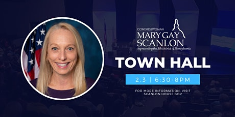 Town Hall with Rep. Mary Gay Scanlon tickets