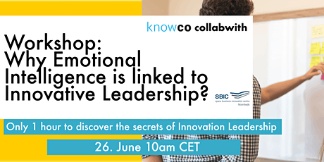 WORKSHOP Why Emotional Intelligence is linked to Innovation Leadership? tickets
