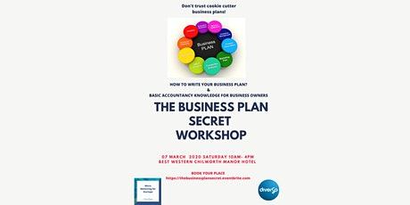 The Business Plan Secret tickets