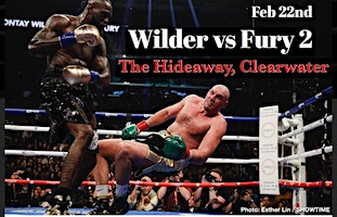 Boxing Wilder vs Fury 2 at The Hideaway Clearwater