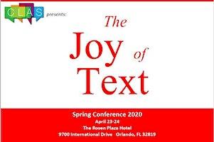 CLAS Spring Conference 2020