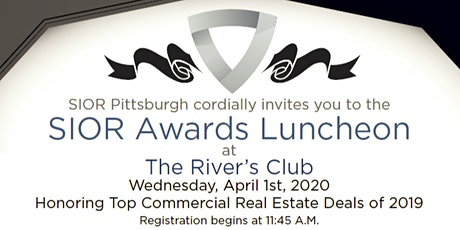 2020 SIOR Awards Luncheon Honoring Top Deals of 2019 tickets