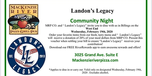 Landon's Community Night