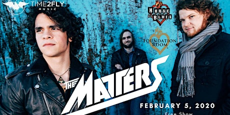 The Matters - Live at Foundation Room Dallas | Feb 5 tickets
