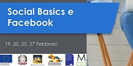 Social Basics e Facebook biglietti