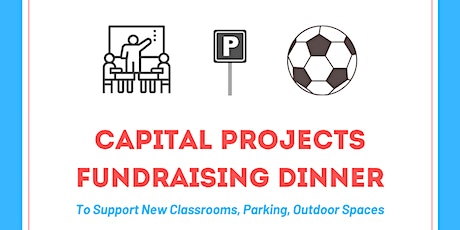 Capital Projects Fundraiser Dinner tickets