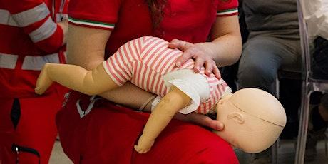 Lezione informativa gratuita di Manovre Salvavita Pediatriche biglietti
