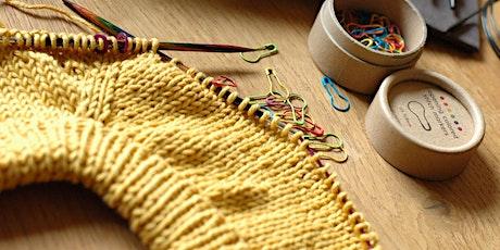 Pullover stricken - Raglan von oben Tickets