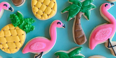 Flamingo Party Sugar Cookie Class