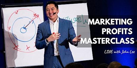 Marketing Profits Masterclass 2020 tickets