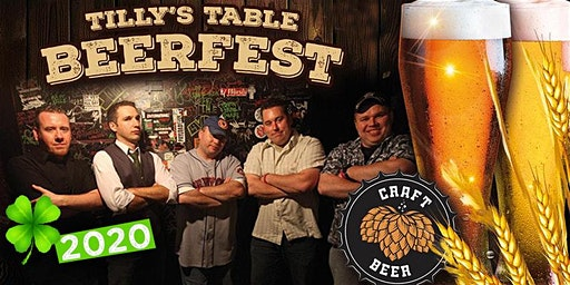 BEERFEST 2020 at Tilly's Table with Live Music by SHILELAGH LAW!