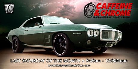 Caffeine and Chrome-Gateway Classic Cars of Chicago tickets