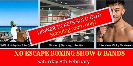 No Escape Boxing Show tickets
