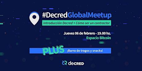 #DecredGlobalMeetup en Buenos Aires entradas