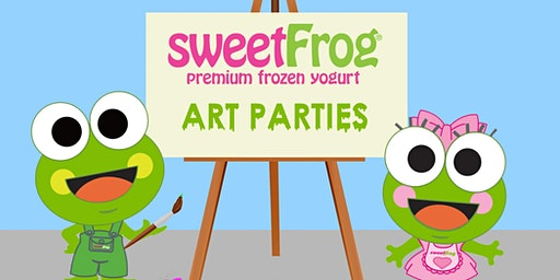 February's Paint Party at sweetFrog Shrewsbury