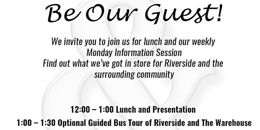 REACH Riverside Lunch and Learn Session and Community Tour