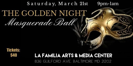 The Golden Night Masquerade Ball