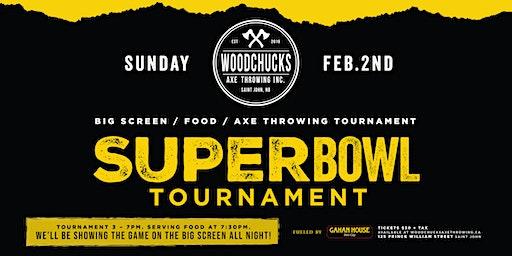 Super Bowl Sunday at Woodchucks