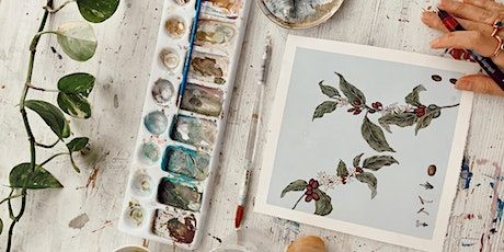 Plant and Flower Illustration Workshop with The Sill x Caro Arevalo tickets