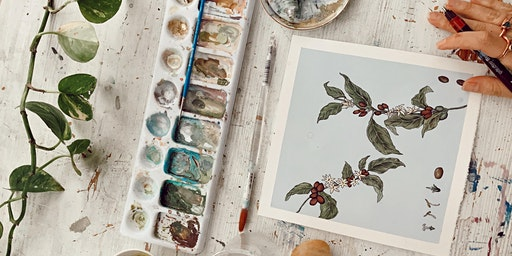 Plant and Flower Illustration Workshop with The Sill x Caro Arevalo